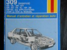 Revue technique 309 Peugeot Essence